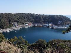 大島 波浮港
